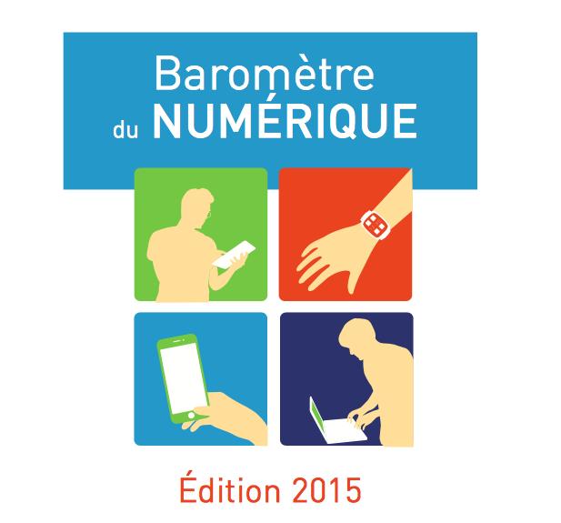 CGE-Arcep : Baromètre du numérique 2015