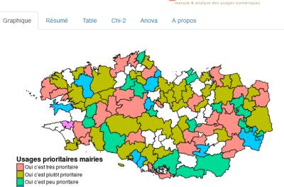 Bretagne : une plateforme de visualisation pour les données du GIS Bretagne