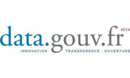 185000 visiteurs uniques par mois sur data.gouv.fr