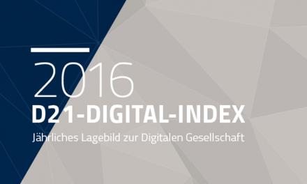 Parution des résultats 2016 de l'Indice numérique allemand D21