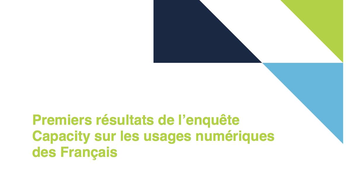 Panorama des premiers résultats de l'enquête Capacity
