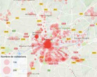 Ce que les données billettiques anonymisées peuvent nous apprendre sur les mobilités quotidiennes